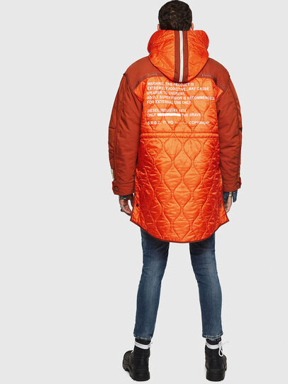 Diesel - W-KOVIK, Orange - Winter Jackets - Image 2