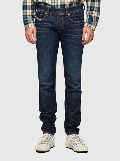 Diesel - Sleenker 09A43, Dark Blue - Jeans - Image 1