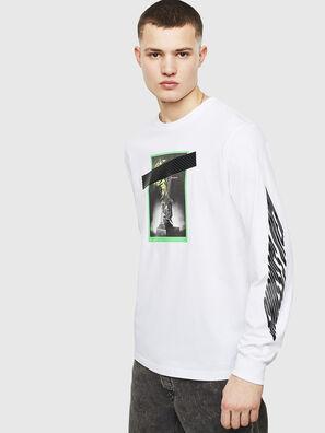 T-JUST-LS-T13, White - T-Shirts