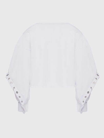 Diesel - F-OLL, White - Sweaters - Image 2
