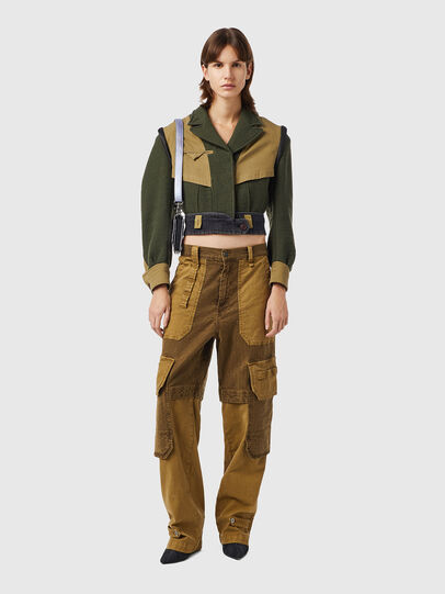 Diesel - G-ELORA, Olive Green - Jackets - Image 4