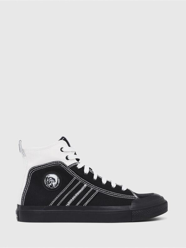 S-ASTICO MID LACE, Black/White - Sneakers