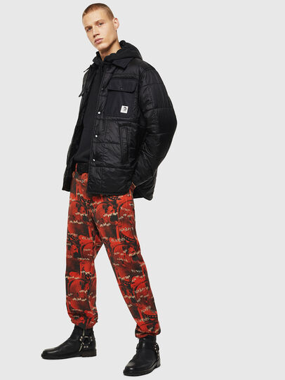 Diesel - J-WELLES, Black - Winter Jackets - Image 6