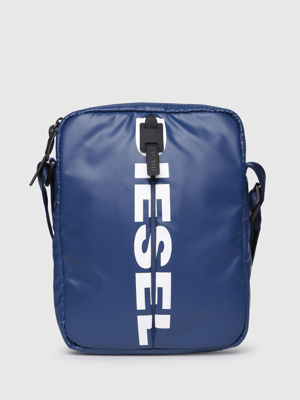 F-BOLD SMALL CROSS, Blue - Crossbody Bags