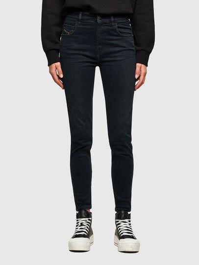 Diesel - Slandy High 009QG, Dark Blue - Jeans - Image 1