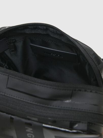 Diesel - X-BOLD DOUBLE CROSS, Black - Crossbody Bags - Image 4