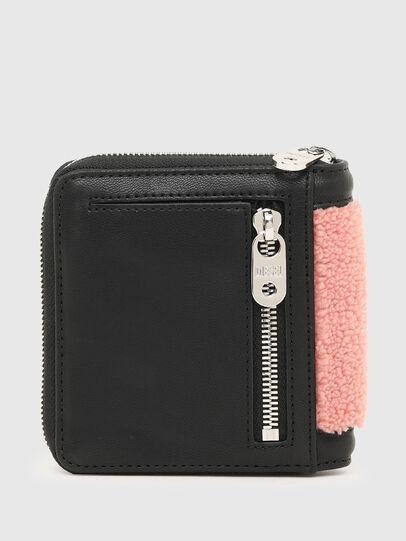 Diesel - PI-ZIP II, Pink/Black - Zip-Round Wallets - Image 2
