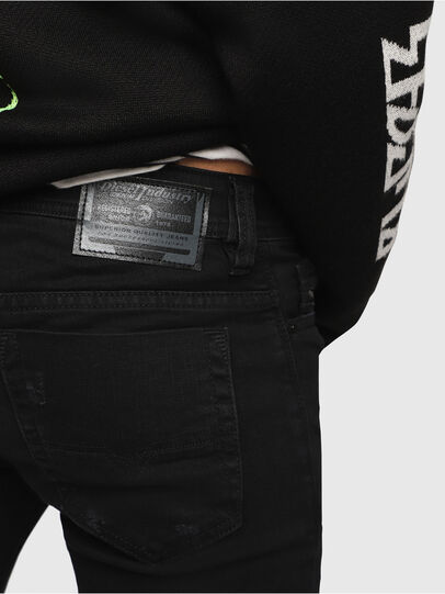 Diesel - Safado C69AC, Black/Dark grey - Jeans - Image 3