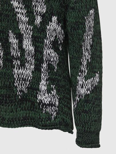 Diesel - K-FLYNN, Green - Knitwear - Image 4