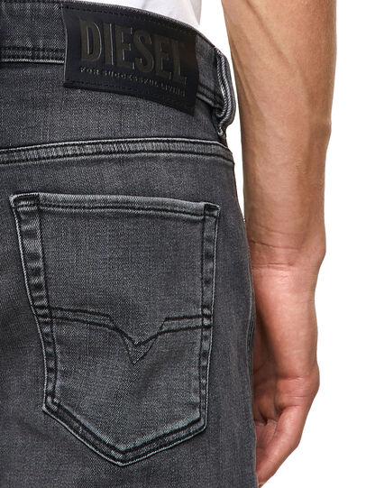 Diesel - Sleenker 09A18, Black/Dark grey - Jeans - Image 3