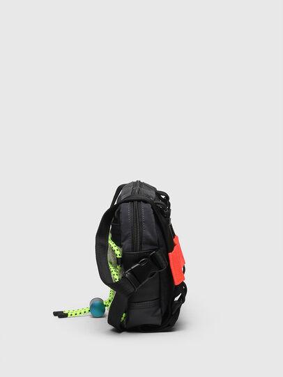 Diesel - ROEDER, Black/Green - Crossbody Bags - Image 3