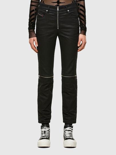 Diesel - D-Joy JoggJeans® 069TT, Black/Dark grey - Jeans - Image 1