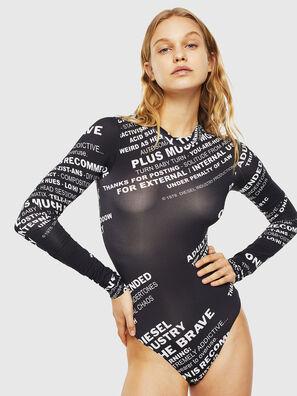 UFBY-NOELAY-F, Black - Bodysuits