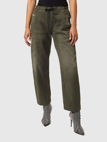 Diesel - Krailey JoggJeans® Z670M, Military Green - Jeans - Image 1