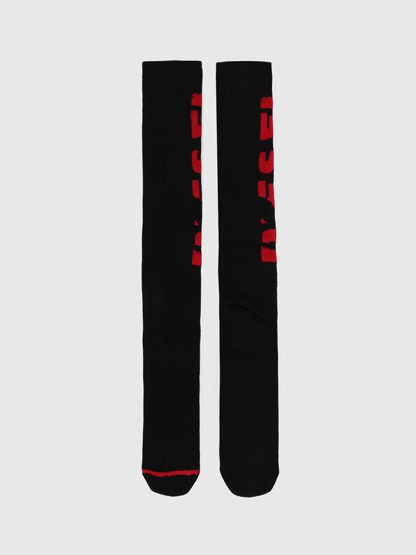 SKM-LONG, Red - Socks