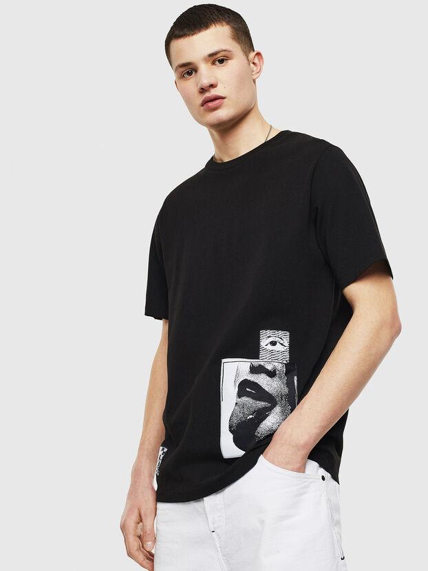 T-JUST-T18, Black - T-Shirts