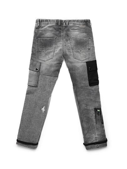 Diesel - D-ARGO-JOGG, Black/Dark grey - Pants - Image 2
