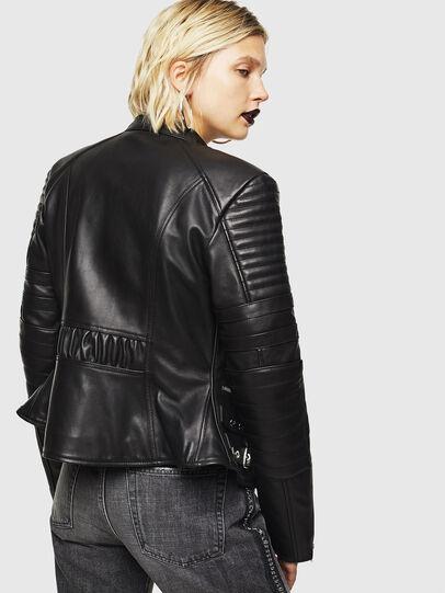 Diesel - L-IGE,  - Leather jackets - Image 2