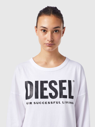 Diesel - D-WALKY-ECOLOGO, White - Dresses - Image 3