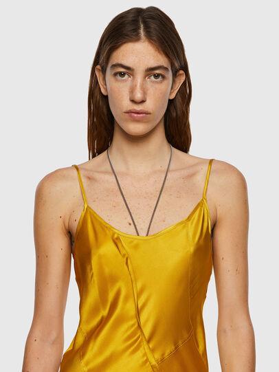 Diesel - D-GAIA, Yellow - Dresses - Image 3