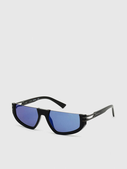 Diesel - DL0315, Black - Sunglasses - Image 2