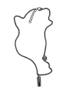 NECKLACE DX1026, Dark Grey - Necklaces