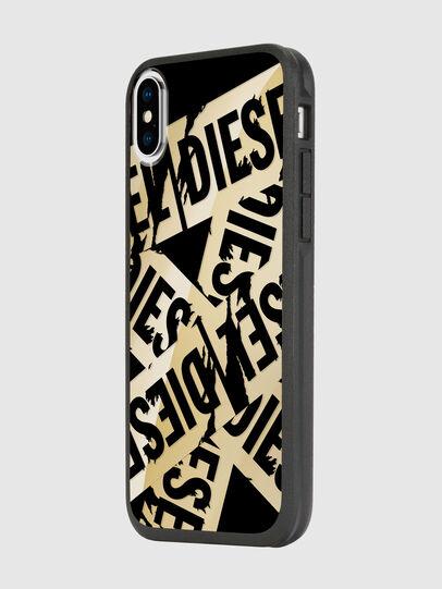 Diesel - MULTI TAPE GOLD/BLACK IPHONE X CASE,  - Cases - Image 5