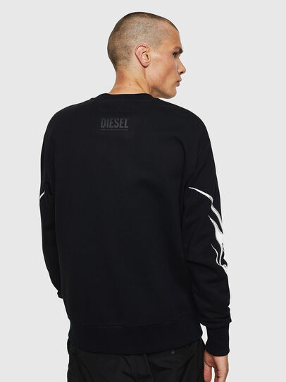 Diesel - S-BAY-B10, Black - Sweaters - Image 2
