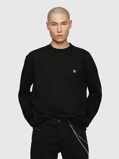 Diesel - S-LINK, Black - Sweaters - Image 1