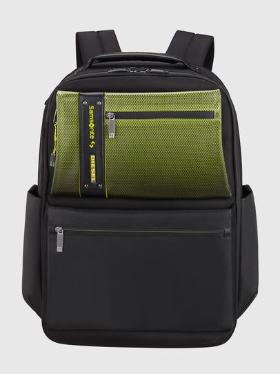 """Diesel - """"KB1*19002 - OPENROA, Black/Green - Backpacks - Image 1"""