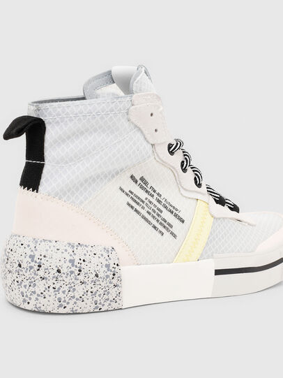 Diesel - S-DESE RC MID W, White - Sneakers - Image 5