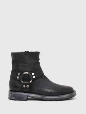 D-THROUPER ABZ  W, Black - Ankle Boots