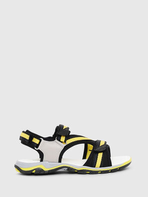 SA 07 STRIPE YO, Gray/Black - Footwear