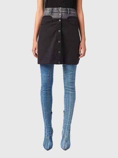 Diesel - O-LIA, Black - Skirts - Image 1