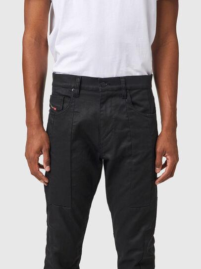Diesel - D-Strukt JoggJeans® 069YH, Black/Dark grey - Jeans - Image 3