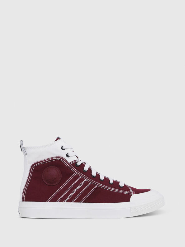 S-ASTICO MID LACE, Burgundy - Sneakers