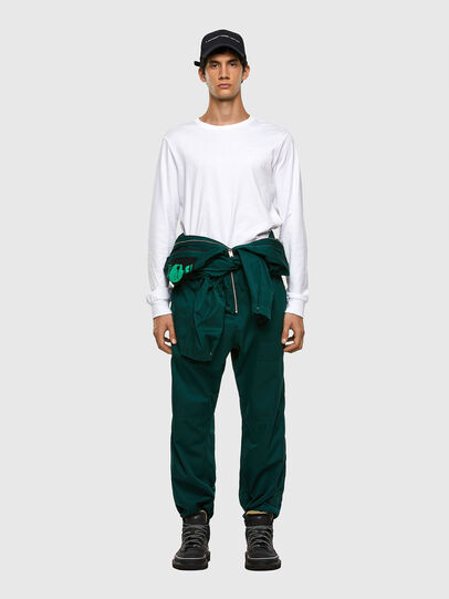 Diesel - P-LARRY, Dark Green - Pants - Image 9