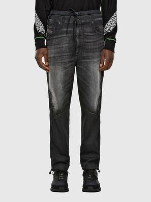 D-Skint JoggJeans 069PC, Black/Dark grey - Jeans