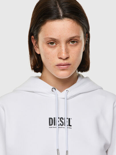 Diesel - F-ANGS-H-ECOSMALLOGO, Black/White - Sweaters - Image 3