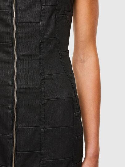 Diesel - DE-VOLCANO-SX, Black - Dresses - Image 4