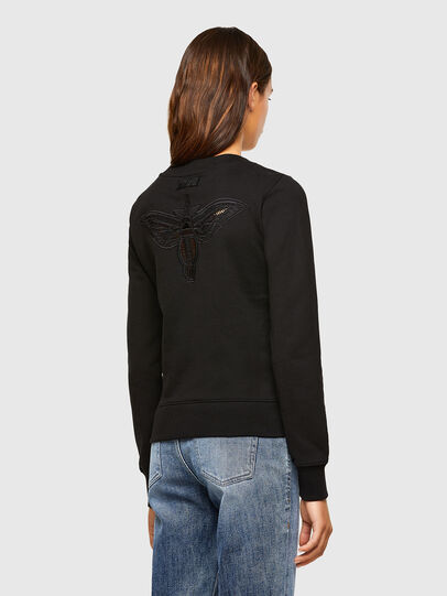 Diesel - F-AMOUS, Black - Sweaters - Image 2