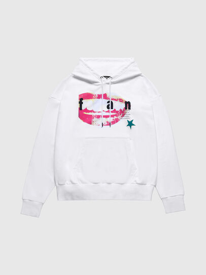 Diesel - US-S-ALBY, White - Sweaters - Image 1