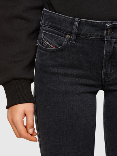 Diesel - D-Jevel 0870G, Black/Dark grey - Jeans - Image 3