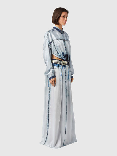 Diesel - D-SUKI, Light Blue - Dresses - Image 4