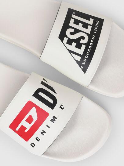 Diesel - SA-MAYEMI PW, White - Slippers - Image 5
