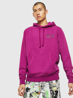 S-GIRK-HOOD-SUN, Lilac - Sweaters