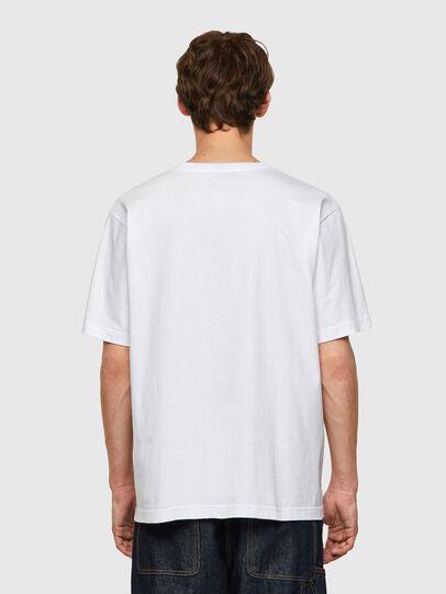 Diesel - T-TUBOLAR-B2, White - T-Shirts - Image 2