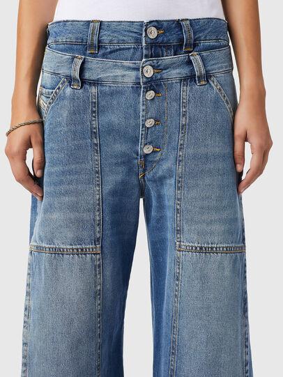 Diesel - D-Laly 0AFAM, Medium blue - Jeans - Image 3