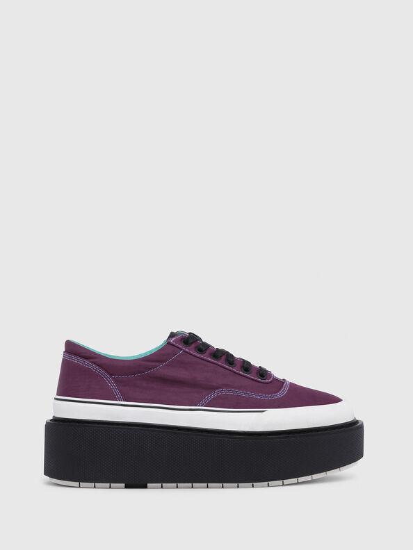 H-SCIROCCO LOW, Dark Violet - Sneakers