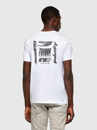 Diesel - T-DIEGOS-K42, White - T-Shirts - Image 2